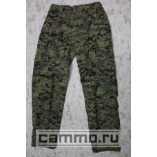 Боевые огнеупорные штаны USMC FROG Marpat Woodland. Морская пехота США. Оригинал.
