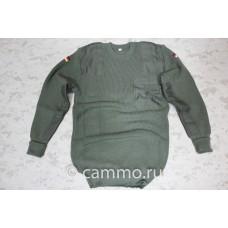 Армейский свитер. Бундесвер. Германия. Оригинал. Олива