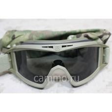 Армейские противоосколочные очки-маска Revision Locust Multicam. Оригинал. США. БУ