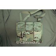 Подсумок Molle II Bandoleer Amunition Pouch под 6 магазинов M4. Multicam. Оригинал. США
