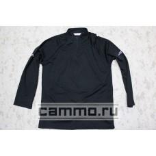 Полицейская футболка с длинным рукавом. Черная. Оригинал. Британия.