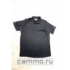 Полицейская рубашка-поло Coolmax. Черная. Оригинал. Британия.