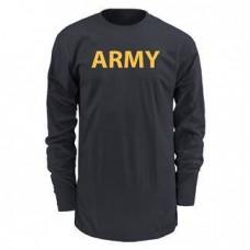 Армейская футболка AFPU для тренировок. Длинный рукав. Оригинал. США