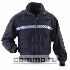 Полицейская ветрозащитная флисовая куртка. Оригинал. Британия. БУ