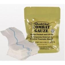 Гемостатический бинт QuikClot Combat Gauze. Оригинал. США.
