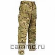 Армейские огнеупорные штаны с пропиткой от насекомых. FR ACU Multicam.  Б/У